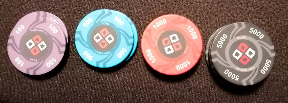 Poker Chips PCSG