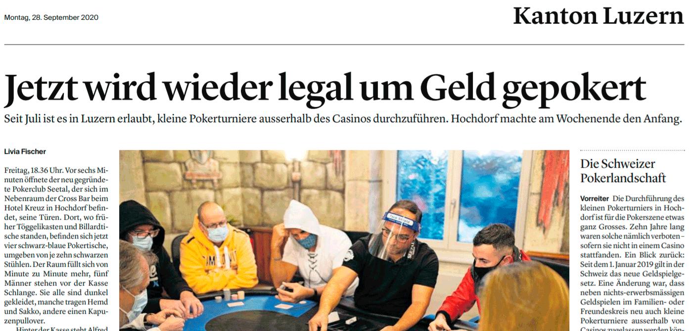 Pokerturnier Hochdorf