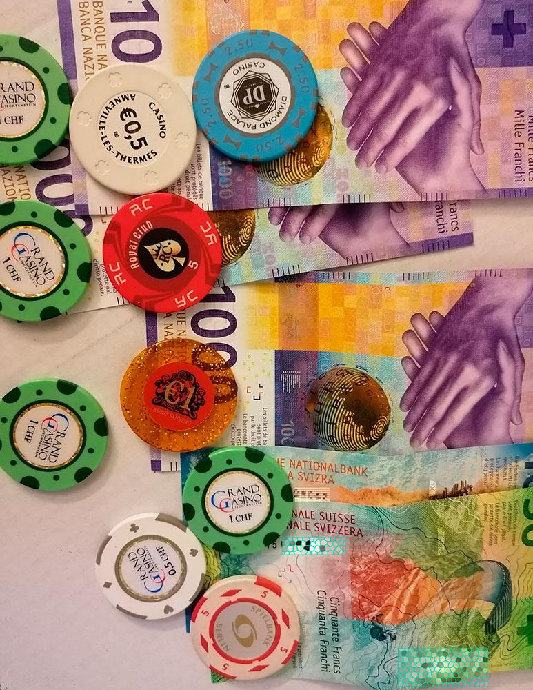 Nur mit Poker Chips bitte - Pokerchips