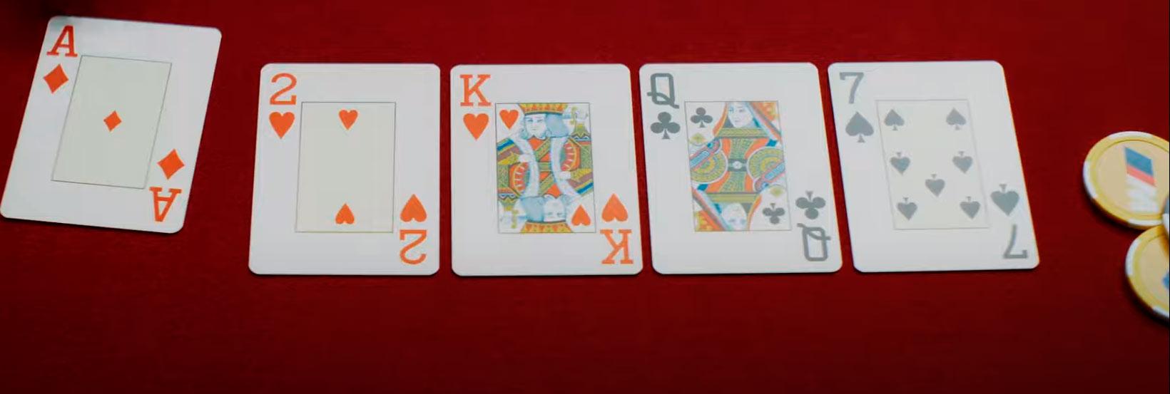 Nur mit Poker Chips bitte! - River